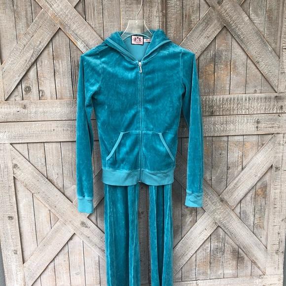 33d560d02f3f Juicy turquoise tracksuit - vintage